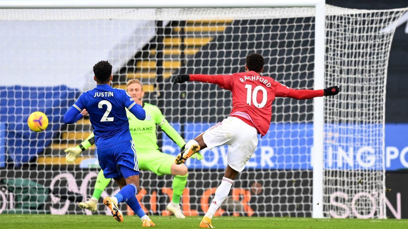 MU đánh rơi chiến thắng trên sân Leicester