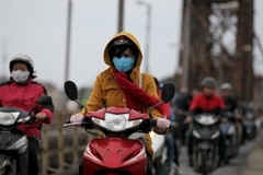 Another strong cold forecasted to hit northern Vietnam