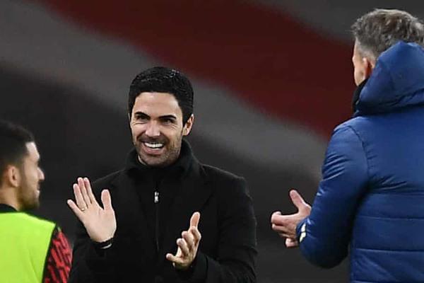 """Mikel Arteta hồ hởi: """"Thắng Chelsea thật đặc biệt"""""""