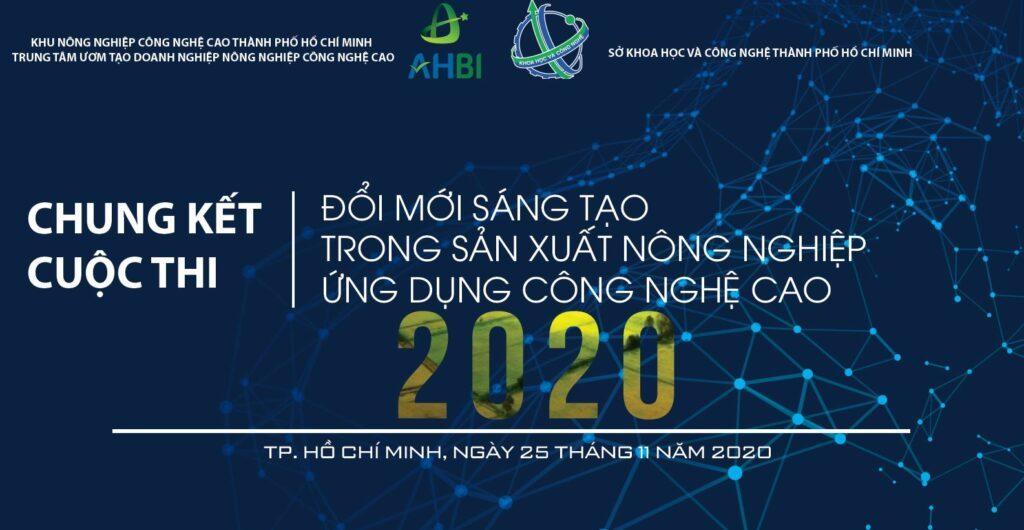 """10 dự án vào chung kết cuộc thi """"Đổi mới sáng tạo trong SXNN ứng dụng công nghệ cao 2020"""""""