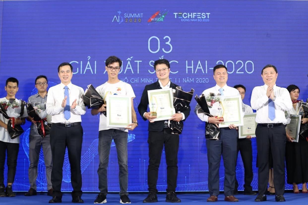 HAI-2020: Ba dự án Đổi mới sáng tạo ứng dụng AI đạt giải xuất sắc