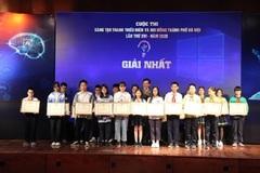 Trao giải cuộc thi Sáng tạo thanh thiếu niên và nhi đồng thành phố Hà Nội 2020