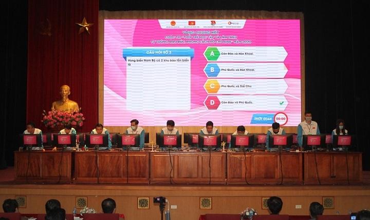 Học sinh Hải Phòng giành giải Nhất cuộc thi Tuổi trẻ học tập và làm theo Bác