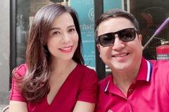 MC Kỳ Duyên vest đỏ trẻ trung, NSƯT Chí Trung hạnh phúc bên bạn gái
