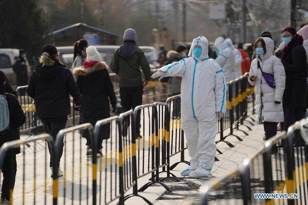 Xuất hiện nhiều ca Covid-19, Bắc Kinh xét nghiệm gần triệu dân