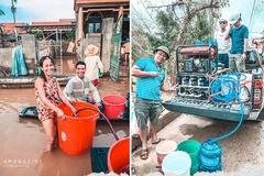Máy lọc nước dã chiến cho vùng lũ miền Trung của kỹ sư Bách khoa