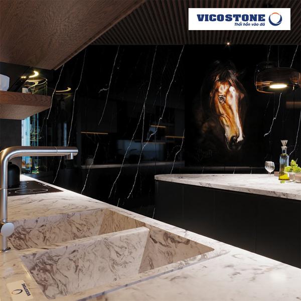Đá Vicostone - điểm dừng chân hoàn hảo cho không gian nội thất