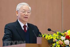 Phát biểu của Tổng Bí thư, Chủ tịch nước tại hội nghị trực tuyến Chính phủ với các địa phương