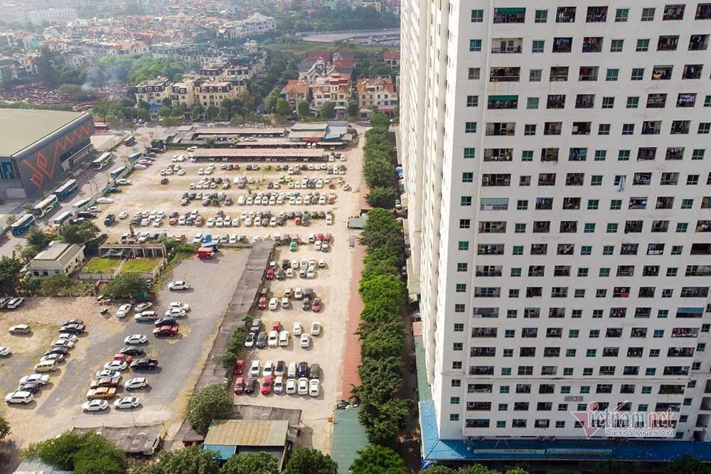 Nguyên KTS trưởng Hà Nội nói về nửa triệu m2 đất bãi xe 'đắp chiếu'