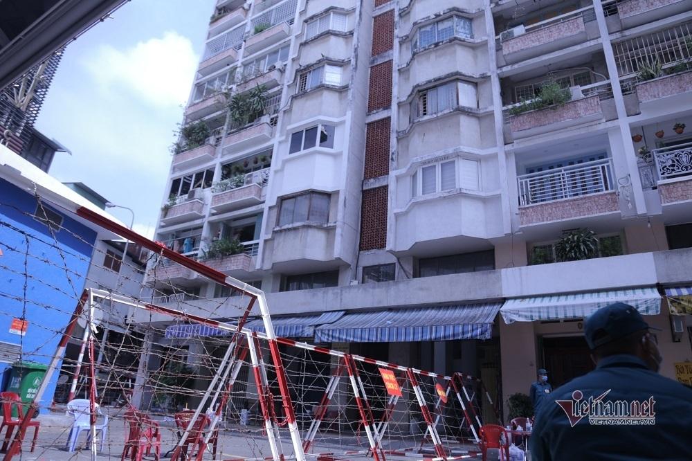 Phong tỏa chung cư ở Sài Gòn liên quan đến ca dương tính Covid-19