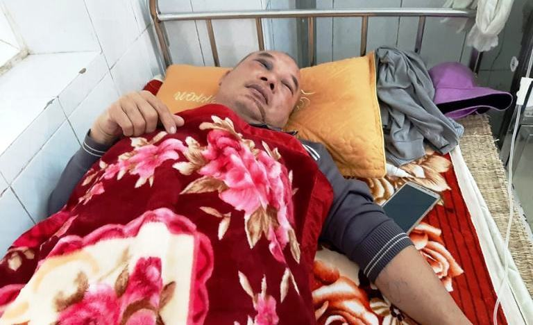 Tài xế taxi ở Thanh Hóa bị siết cổ, kể phút giả chết để thoát thân