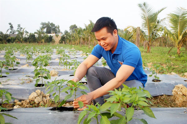 Young man's chilli business is red-hot hit