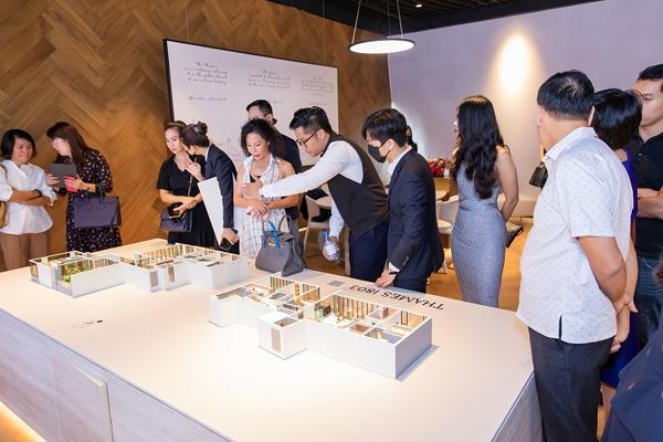 City Garden Thủ Thiêm ra mắt khu tư vấn dành riêng cho BST thượng đỉnh