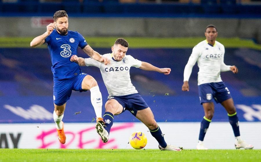 Xem video bàn thắng Chelsea 1-1 Aston Villa