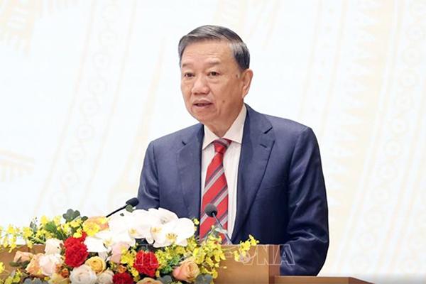 Phát biểu của Bộ trưởng Công an Tô Lâm tại hội nghị trực tuyến Chính phủ với các địa phương
