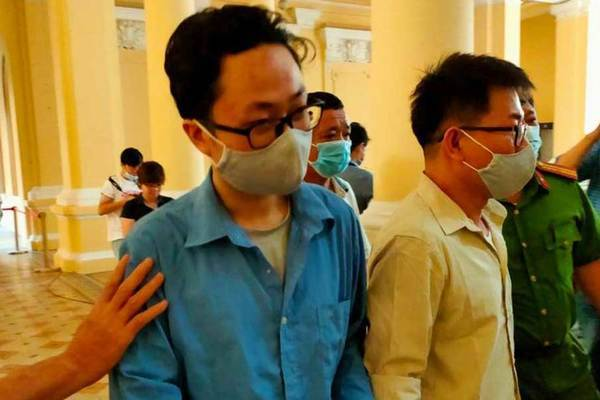 Cựu Phó Chánh án quận 4 Nguyễn Hải Nam hầu tòa