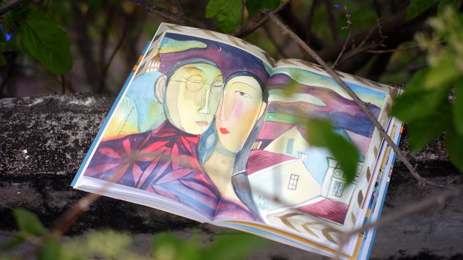 Không gian nghệ thuật Việt trong sách Tết 2021