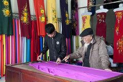 Hanoi's handicraft village promotes beauty of Vietnamese Ao Dai