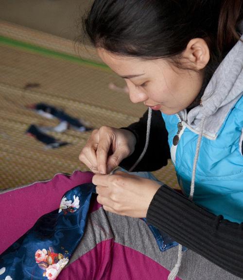 handicraft village,Ao Dai