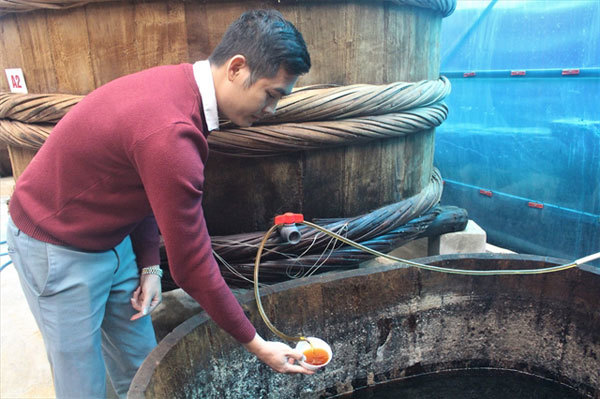 Young fish sauce entrepreneur enjoys sweet taste of success