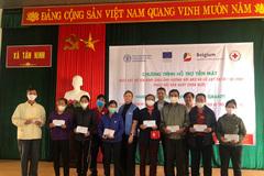 Bỉ hỗ trợ người dân vùng lũ Quảng Bình, Quảng Trị