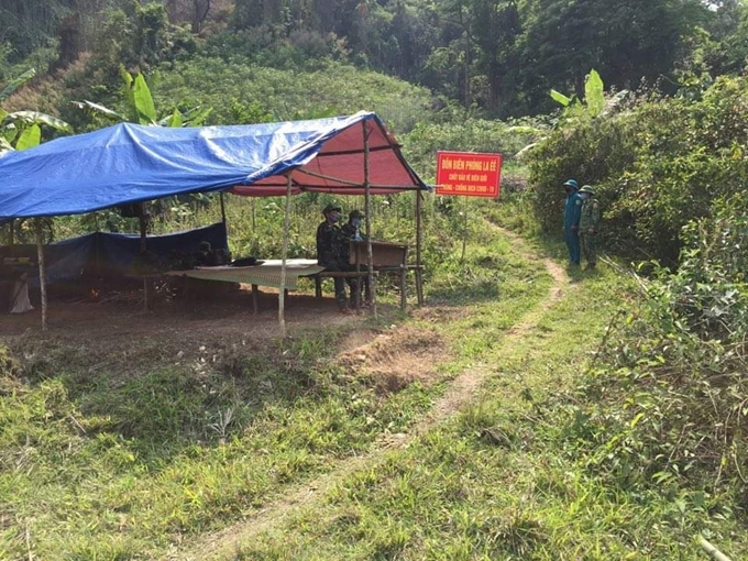 Quảng Nam kiểm soát chặt các đường mòn, lối mở ngăn nhập cảnh trái phép