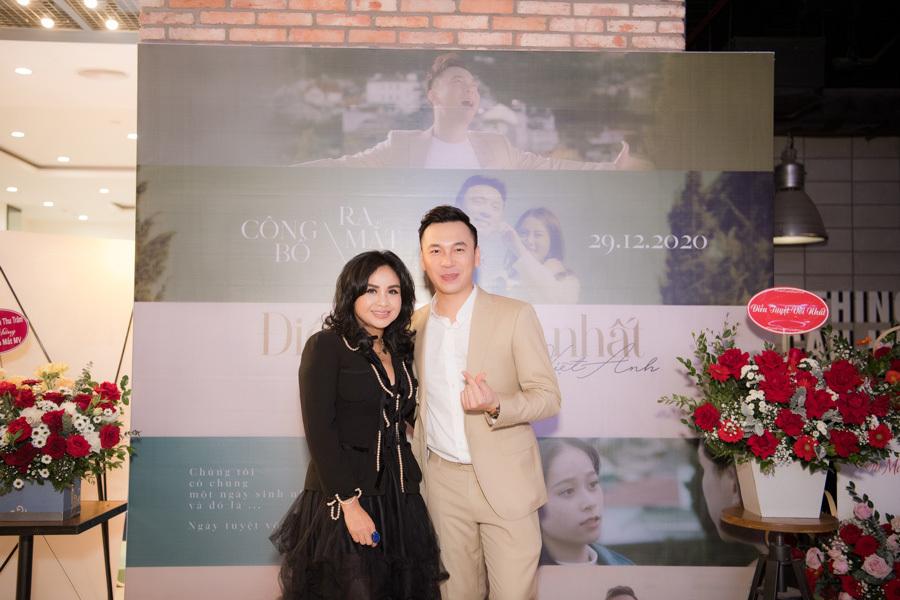 Chuyện tình đẹp của Hà Hồ được Lê Việt Anh tái hiện bằng âm nhạc