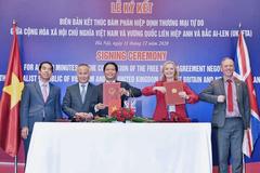Hiệp định thương mại Việt Nam - Anh - Bắc Ai Len: Đêm nay ký, ngày kia hiệu lực