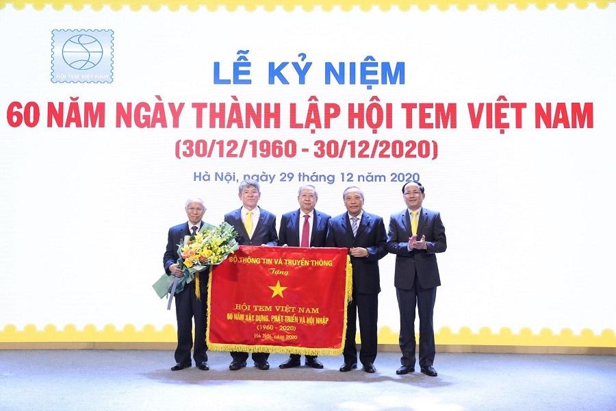 Hội Tem Việt Nam kỷ niệm 60 năm thành lập