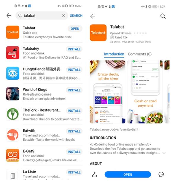 Trải nghiệm thú vị với 'cửa hàng' ứng dụng Huawei AppGallery