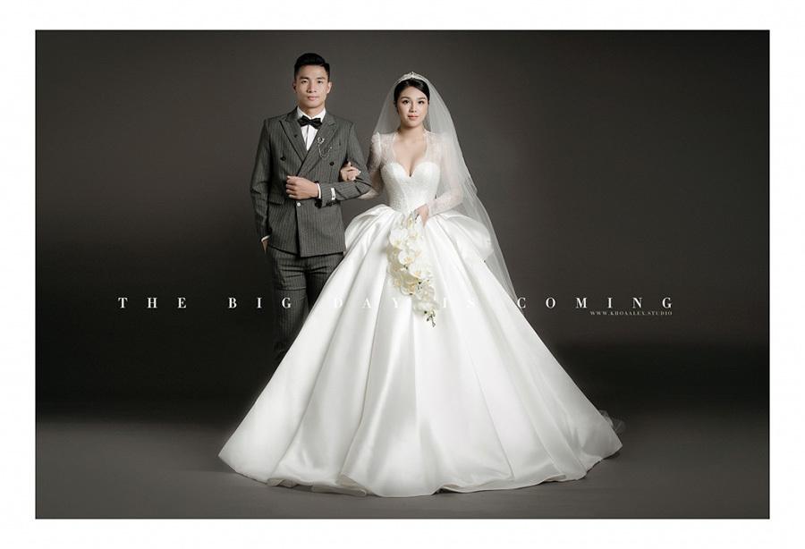 Ngắm ảnh cưới đẹp lung linh của trung vệ Bùi Tiến Dũng