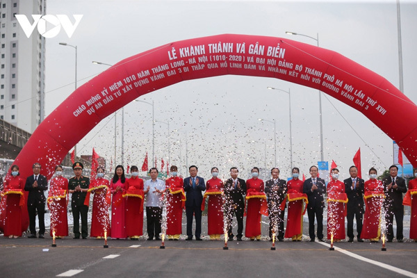 Outstanding construction projects in Hanoi this year