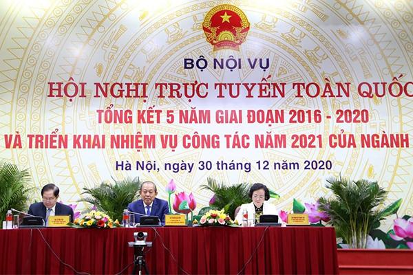 Tập trung hoàn thiện Đề án Cơ cấu Chính phủ nhiệm kỳ 2021-2026