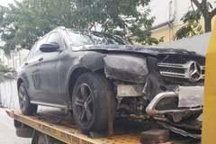 Xe GLC 200 bị cháy 6 tháng, các bên vẫn tranh cãi nguyên nhân
