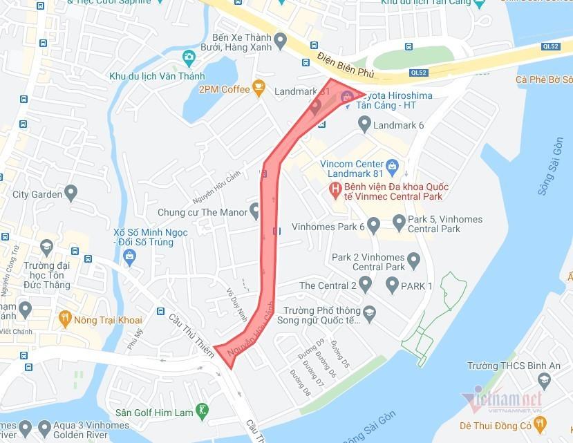 Cấm xe nhiều tuyến đường ở Sài Gòn phục vụ bắn pháo hoa đón năm mới