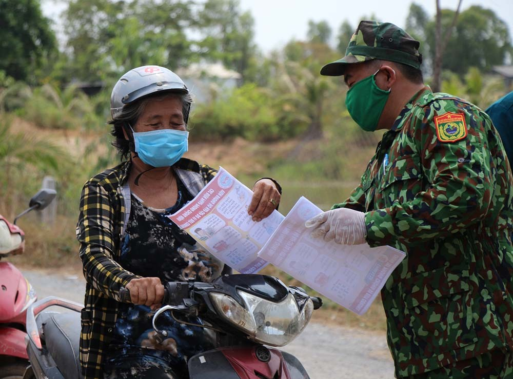 Bộ đội biên phòng kiểm soát chặt biên giới Tây Nam, ngăn vượt biên trái phép