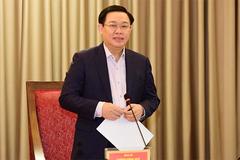 Ông Vương Đình Huệ làm Trưởng Ban chỉ đạo bầu cử ĐBQH và HĐND của Hà Nội
