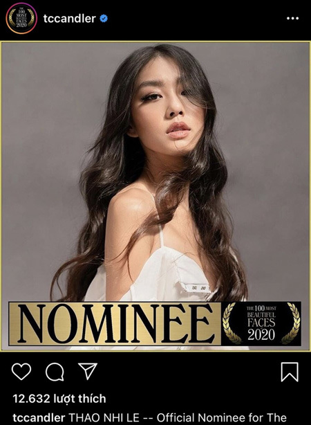 Thao Nhi Le listed among world's 100 Most Beautiful Faces of 2020