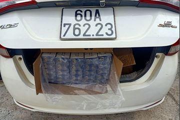 Chuyển Công an điều tra kẻ vận chuyển 3.000 bao thuốc lá lậu