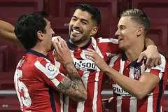 Suarez lập đại công, Atletico thắng trận đặc biệt cùng HLV Simeone