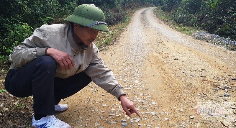 Nghiệm thu vừa xong, đường 35 tỷ đồng ở Thanh Hóa đã xuống cấp