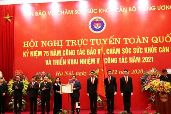 Ban Bảo vệ, chăm sóc sức khoẻ cán bộ T.Ư nhận Huân chương Độc lập hạng Nhì