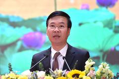 Toàn văn phát biểu của Trưởng Ban Tuyên giáo Trung ương Võ Văn Thưởng tại hội nghị báo chí toàn quốc