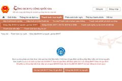 BHXH Việt Nam cung cấp trực tuyến mức độ 4 tất cả các dịch vụ công