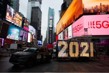 Mỹ tiễn 2020, đón 2021 trong lặng lẽ do Covid-19