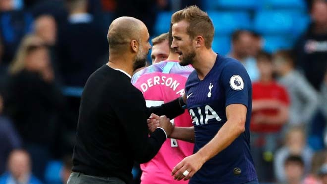 Man City chi 100 triệu euro 'cuỗm' Harry Kane từ Tottenham