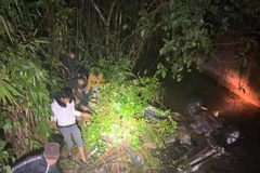 Danh tính nạn nhân trong vụ ô tô lao xuống suối khiến 2 người chết