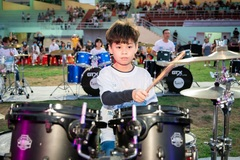 Xác lập kỷ lục Guinness Việt Nam 'Biểu diễn trống Jazz nhiều nhất'