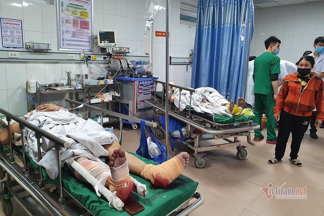Sự cố rơi thang máy kinh hoàng ở Nghệ An, thêm 2 người nguy kịch