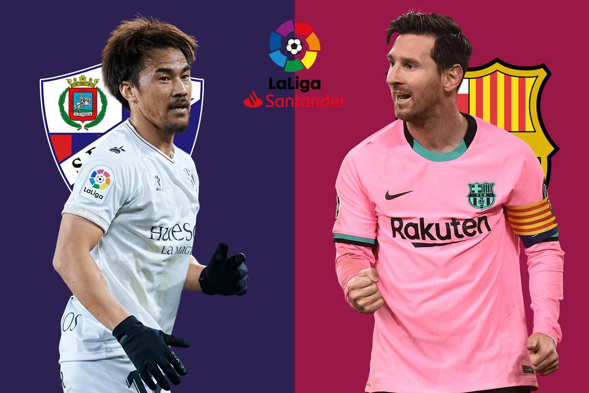 Nhận định Huesca vs Barca: Vượt khó